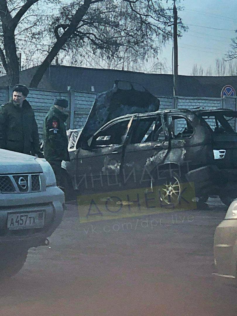 Очередной взрыв в Донецке