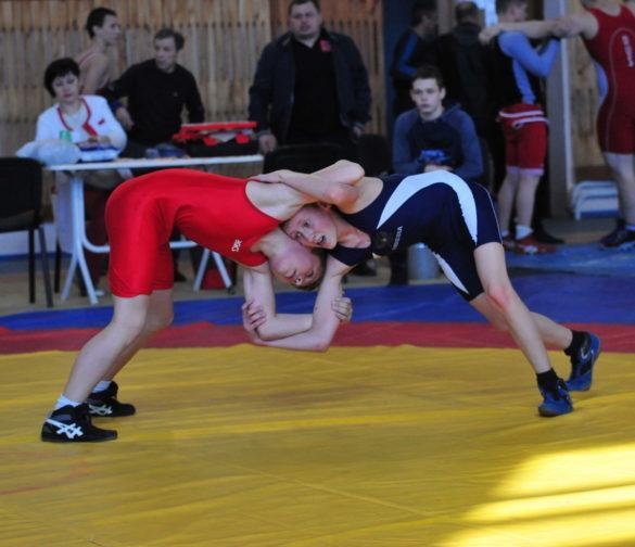 Соревнования по вольной борьбе (фоторепортаж)