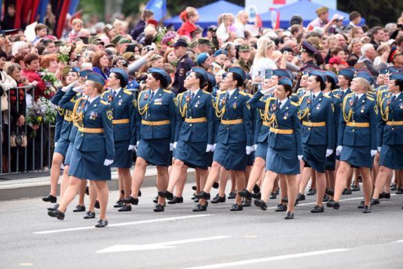 Как это было в 2018-м: Парад Победы и Бессмертный полк в ДНР (подробный фоторепортаж)