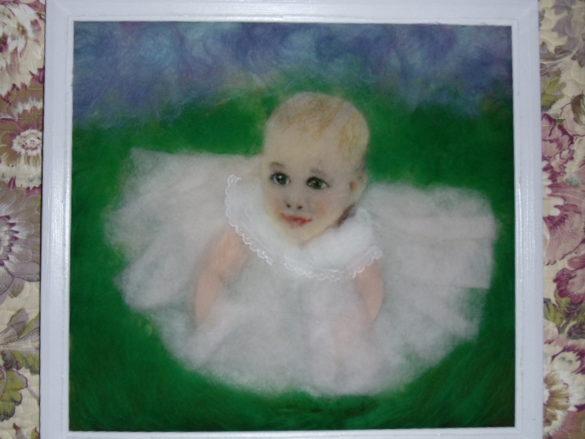Шерстяные картины Натальи Воропаевой