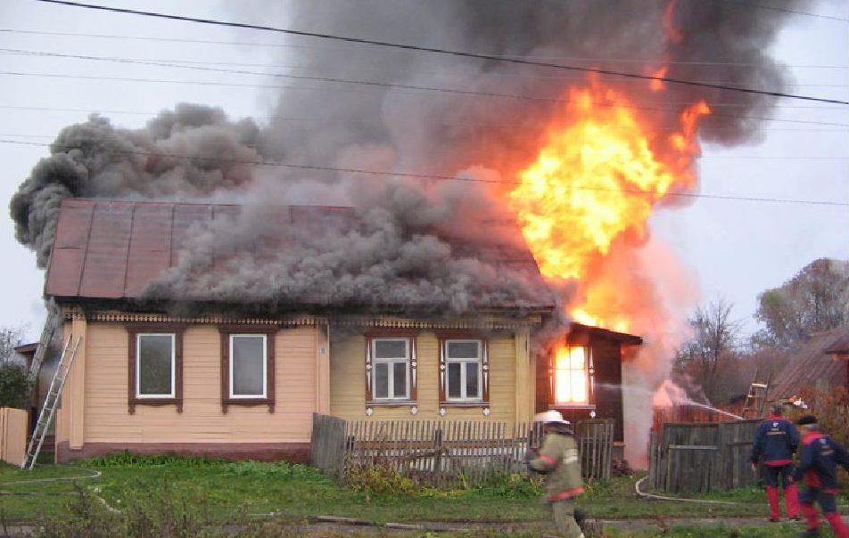 В Харцызске при пожаре погиб мужчина