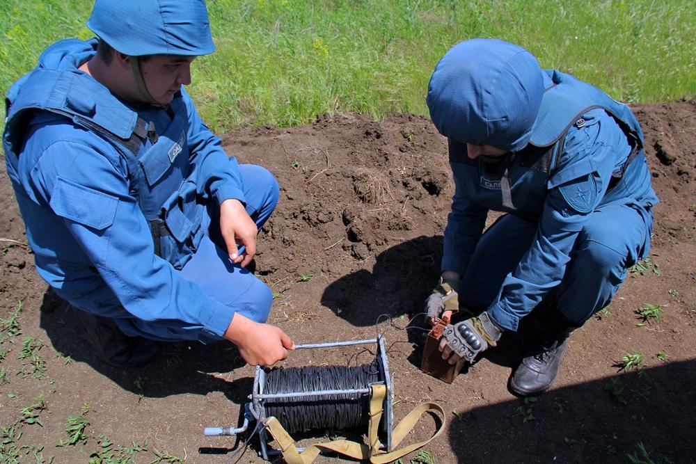 В Старобешевском районе ДНР идет разминирование