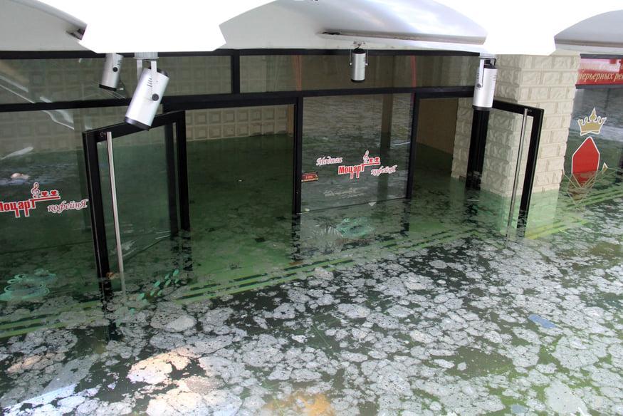 ТЦ «Северный» снова затоплен