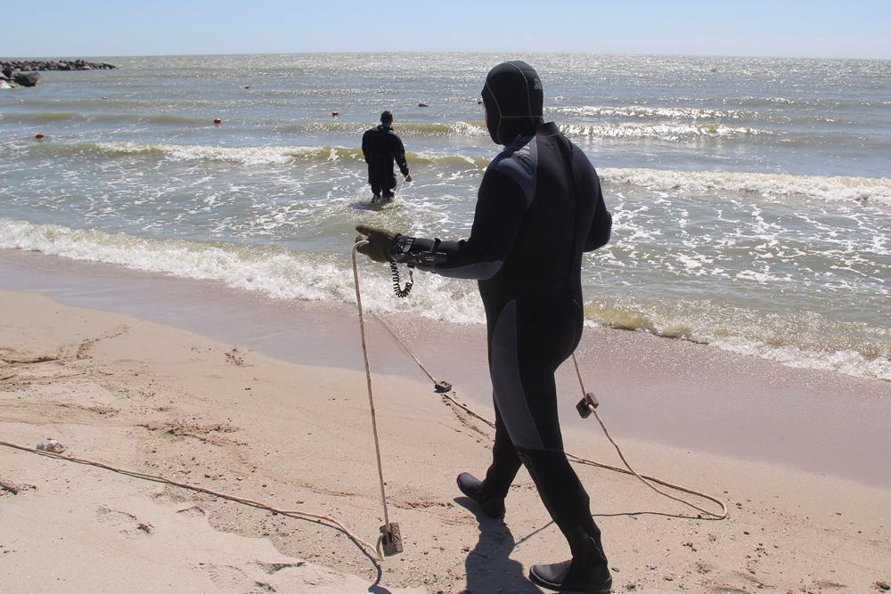 МЧС ДНР провели проверку морского дна в Седово
