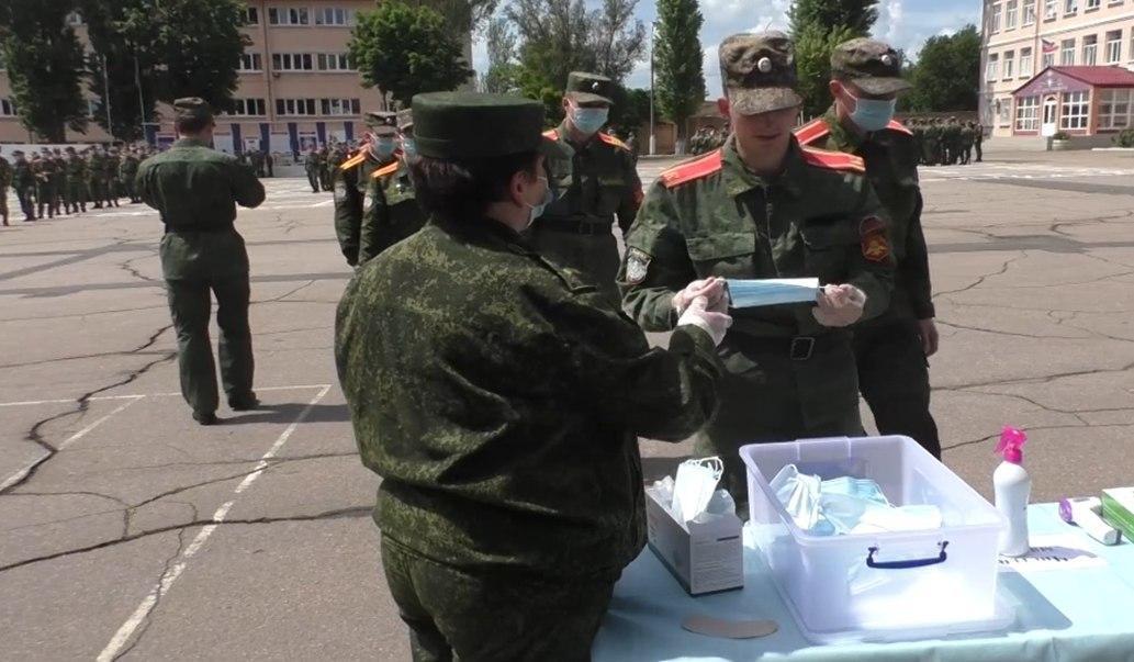УНМ ДНР: «Участники парада защищены от коронавируса»