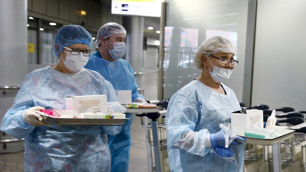 МЗ ДНР – о противоэпидемических мероприятиях в очагах COVID-19