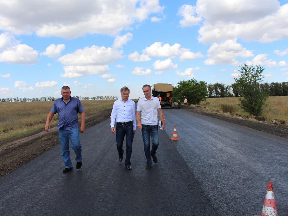 Министр транспорта проверил ход ремонта на дорогах ДНР