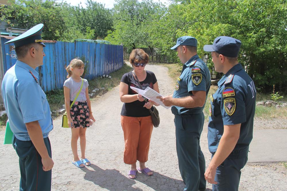 МЧС ДНР продолжает профилактические рейды по противопожарной безопасности