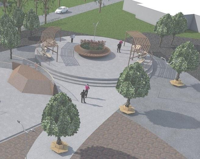 В Макеевке облагородят парк по проекту студентки архитектурного вуза