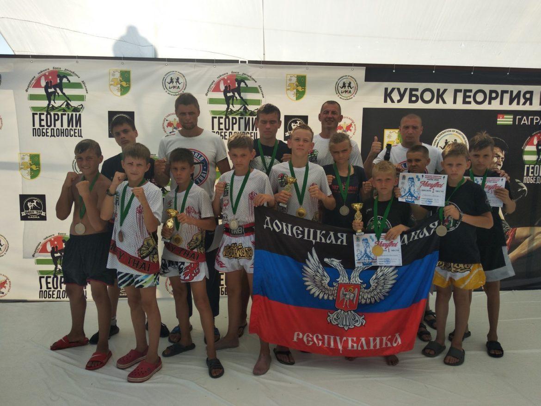 Спортсмены ДНР вернулись из Абхазии с трофеями
