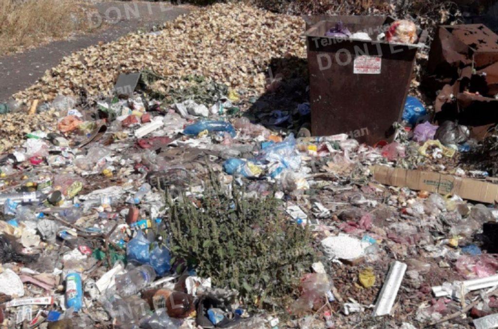 Город–свалка. В Торезе не вывозят мусор