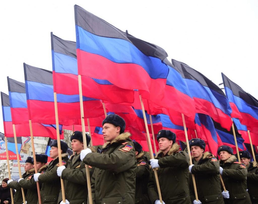 Поздравление Главы ДНР Дениса Пушилина по случаю Дня Государственного флага Донецкой Народной Республики