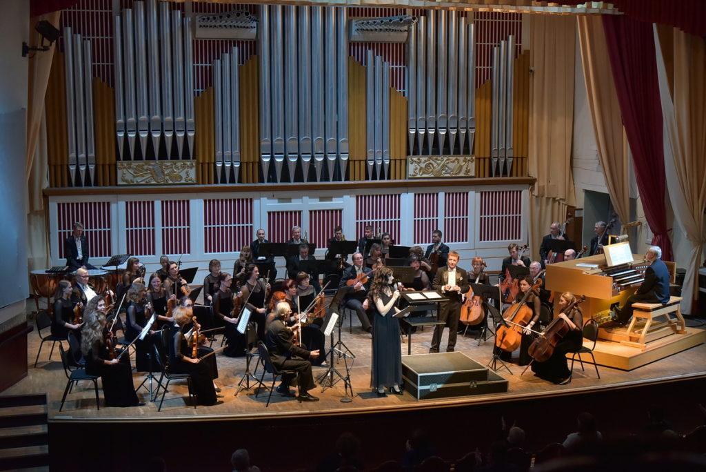 В Донецкой государственной академической филармонии состоялось открытие фестиваля органной музыки «Донецкая осень»