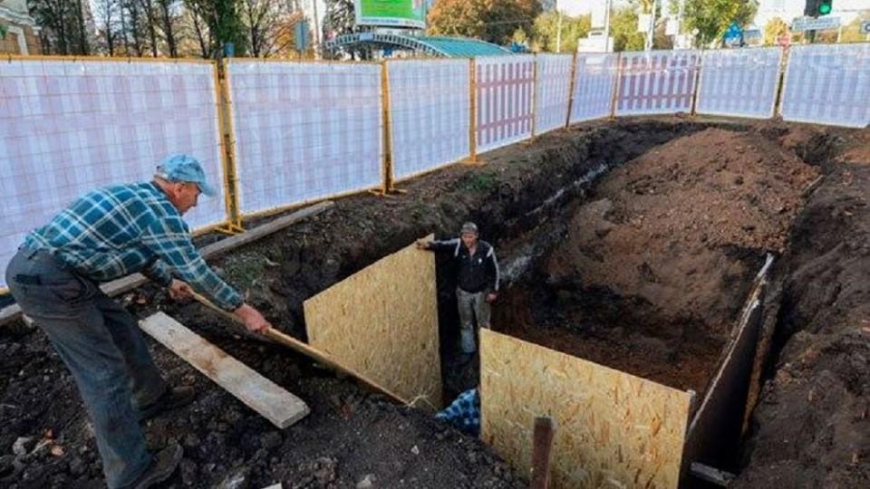 В Минстрое рассказали, как укладывают водовод в центре Донецка