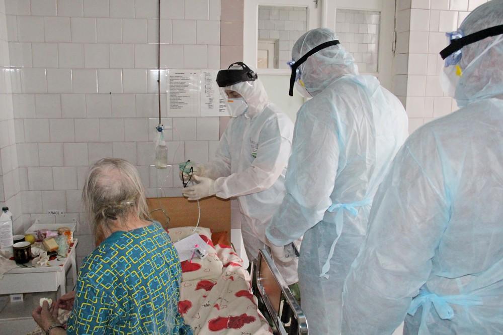 Горноспасатели МЧС оказывают содействие в лечении больных COVID-19