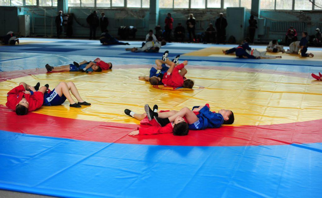 В Донецке открыли новый зал для самбо и дзюдо