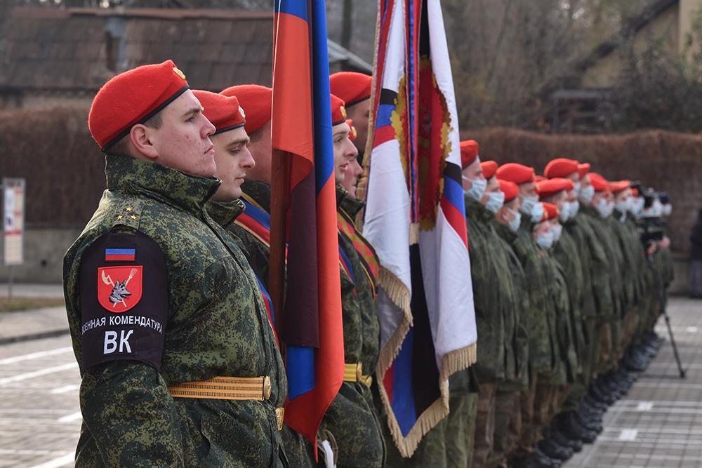Глава ДНР наградил Краматорский комендантский полк орденом Республики