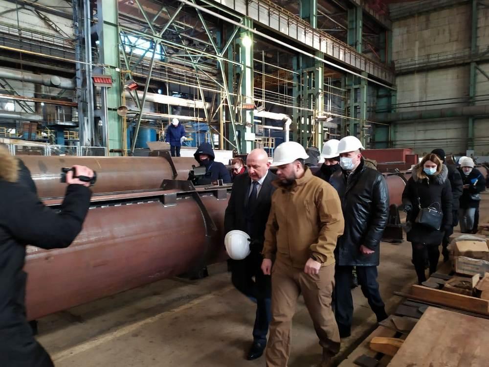 Продукция «Донецкгормаш» экспортируется в РФ, Белоруссию и Казахстан