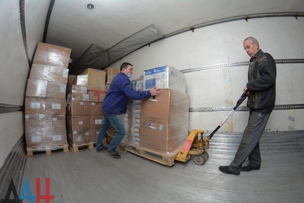101-й гумконвой от МЧС России прибыл в Республику