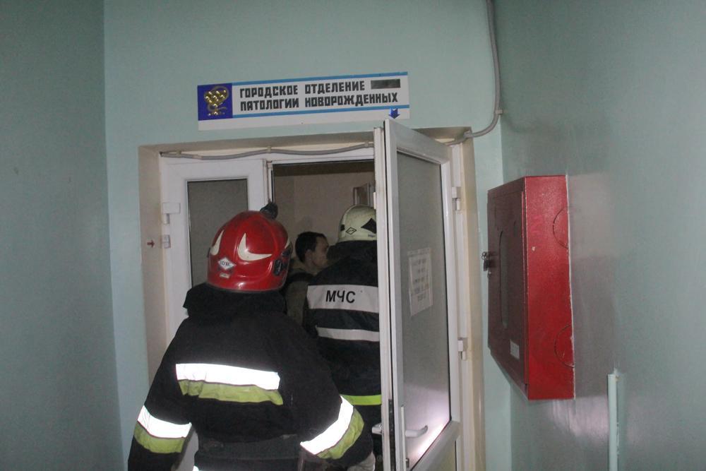 В донецкой больнице №6 произошел пожар