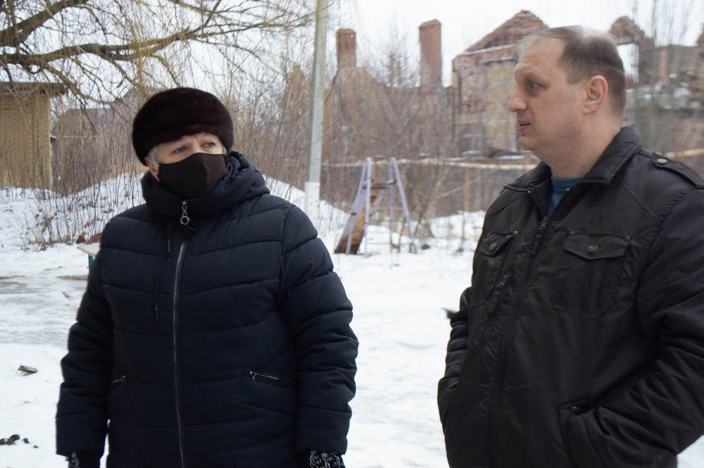 Три дома в Киевском районе Донецка практически полностью восстановлены