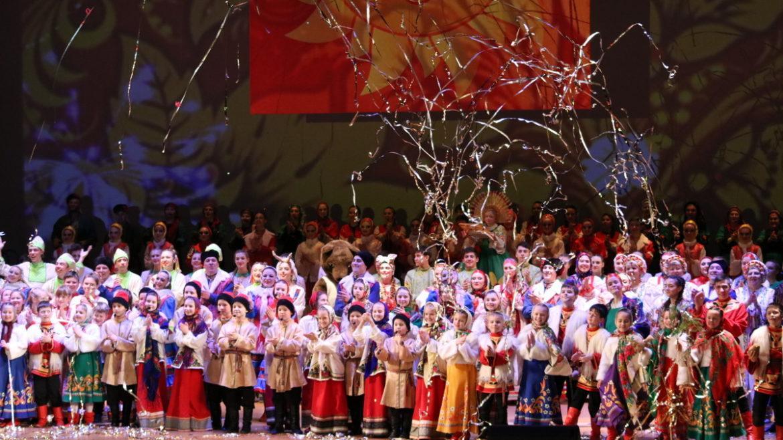 В Донбасс Опере состоялся фольклорный праздник «Широкая Масленица»