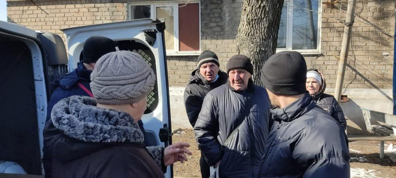 Помощь для жителей Спартака (фото, видео)