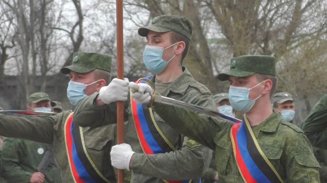 Народная Милиция ДНР продолжает подготовку к параду Победы