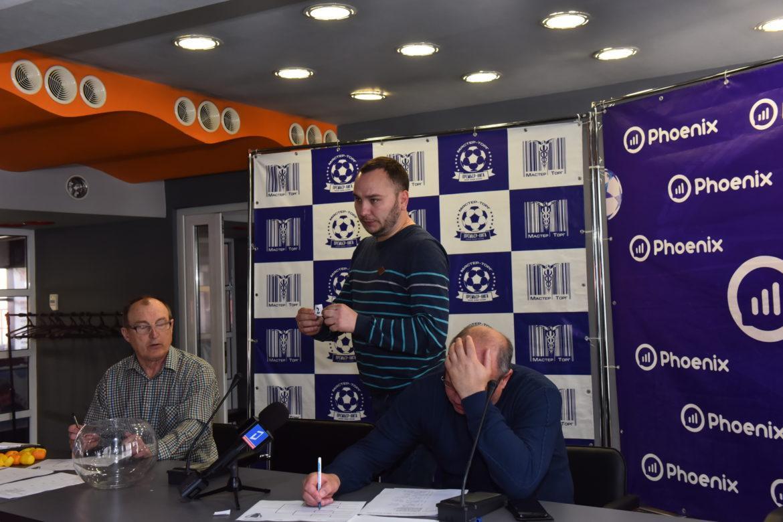 Первая жеребьевка в истории футбольных турниров ДНР