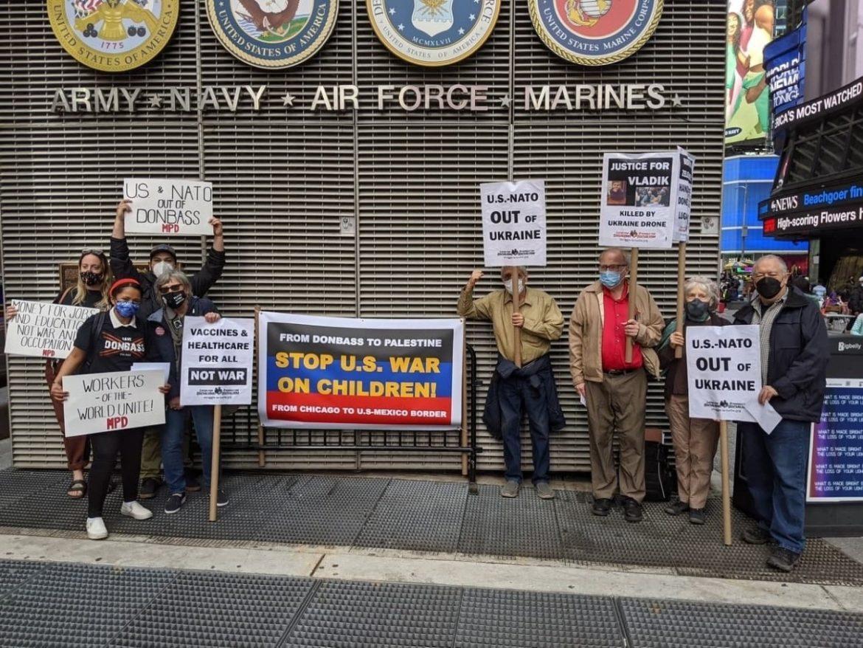 В Нью-Йорке прошла акция в поддержку Донбасса