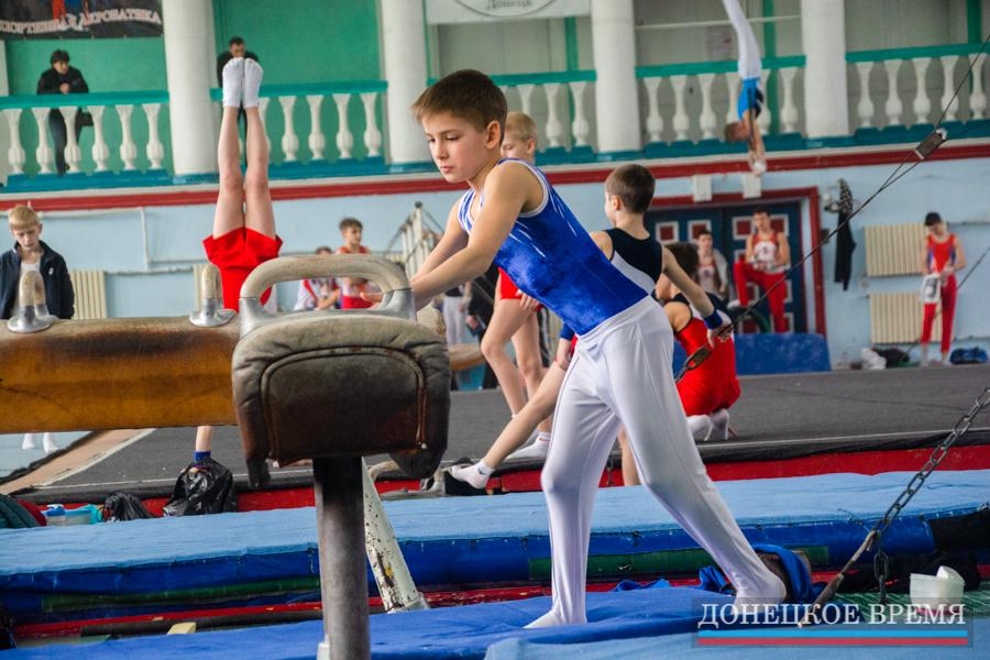 Красота и сила спортивной гимнастики