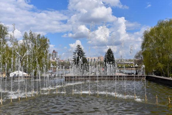 Майские праздники в парке им. Щербакова (Фото)