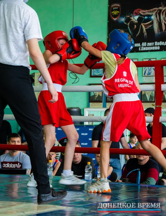 Соревнования по боксу в Енакиево [Фоторепортаж]