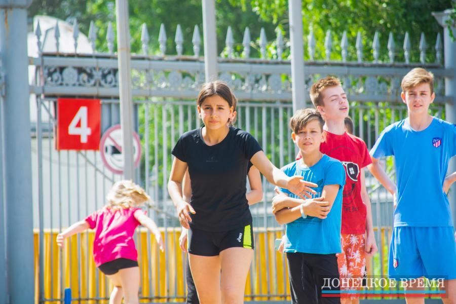 Олимпийский день бега прошел в Донецке (ФОТО)