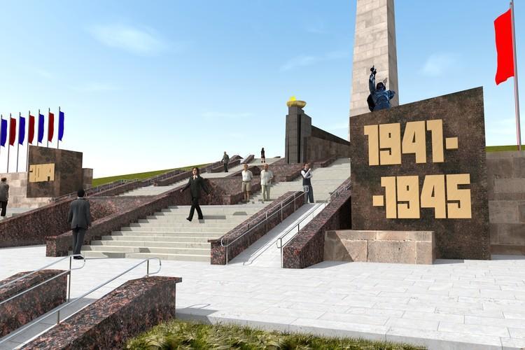 Реконструкция «Саур-Могилы» обойдется в 52 млн рублей