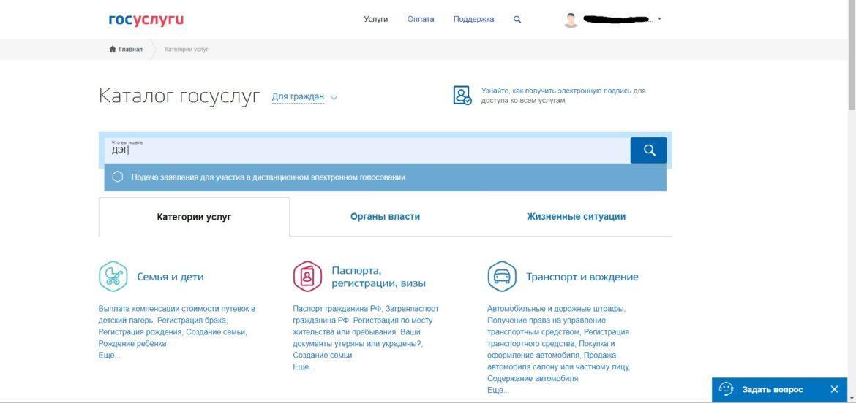 Граждане России, живущие в ДНР, могут подать заявление для участия в дистанционном электронном голосовании