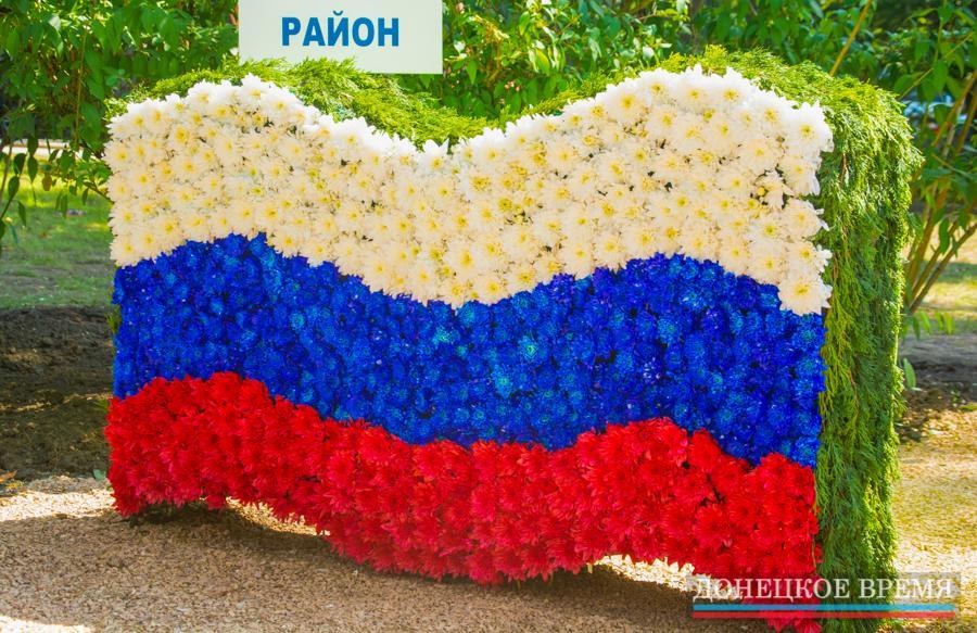 Расцвет русской культуры: выставка цветов на бульваре Пушкина (ФОТО)